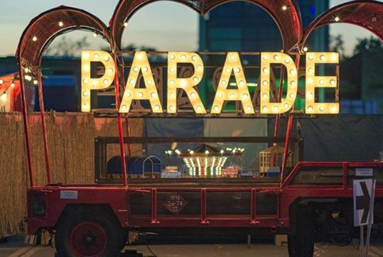 Reizende theaterfestival de Parade