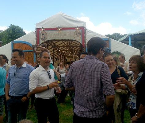 Festivaltent Huren - tent Cavallone
