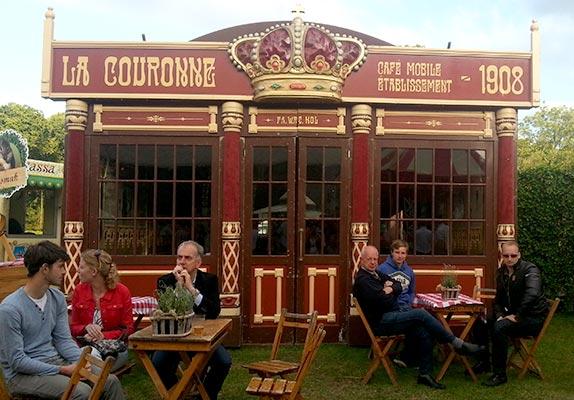 Festivaltent Huren - tent La Couronne